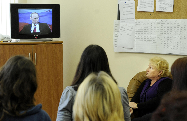 Doroczny telemost Putina gromadzi przed telewizorami miliony Rosjan/AFP