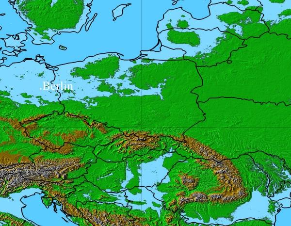 Mapa Europy I Swiata W Przyszlosci Swiatowidz Pl