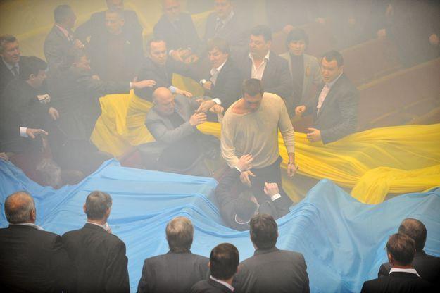 UKRAINE-RUSSIA-PARLIAMENT