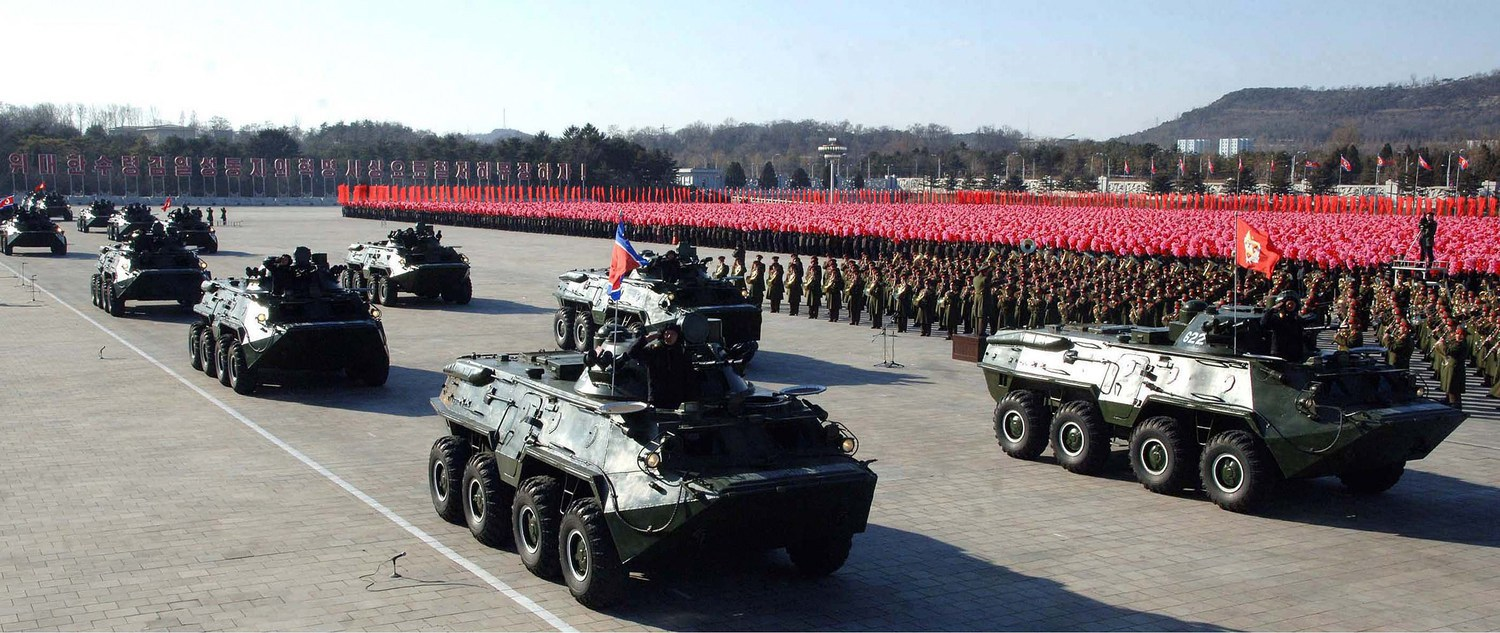 NKOREA-MILITARY PARADE