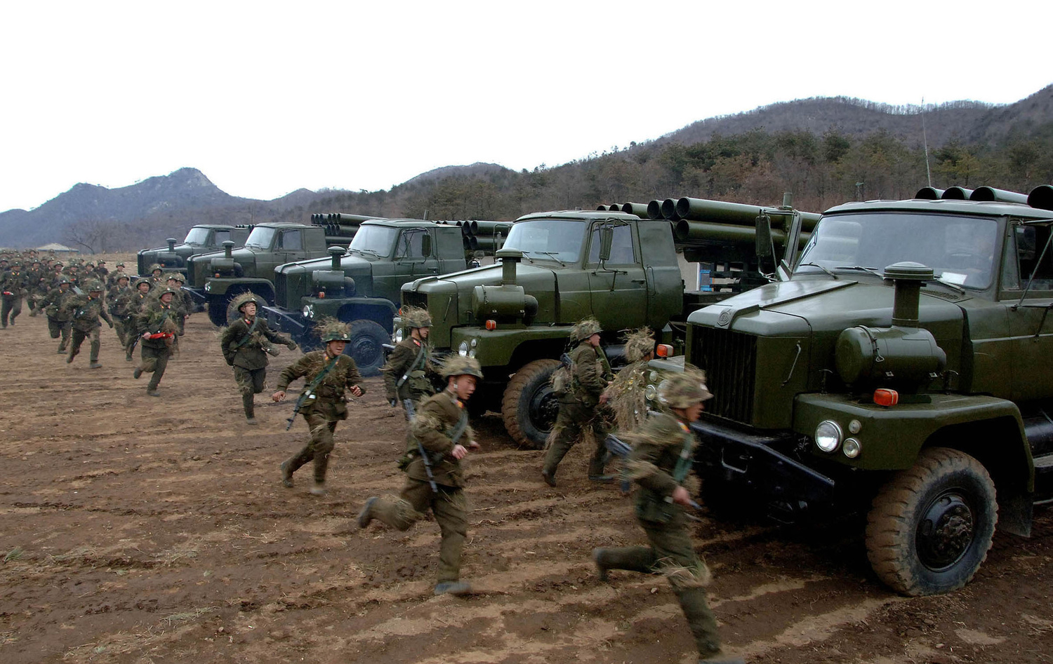 NKOREA-SKOREA-MILITARY-US