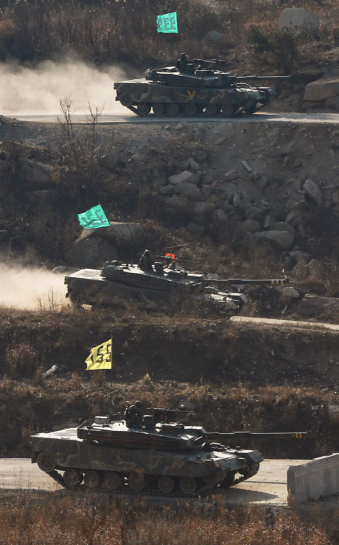 SKOREA-NKOREA-MILITARY-DEFENCE