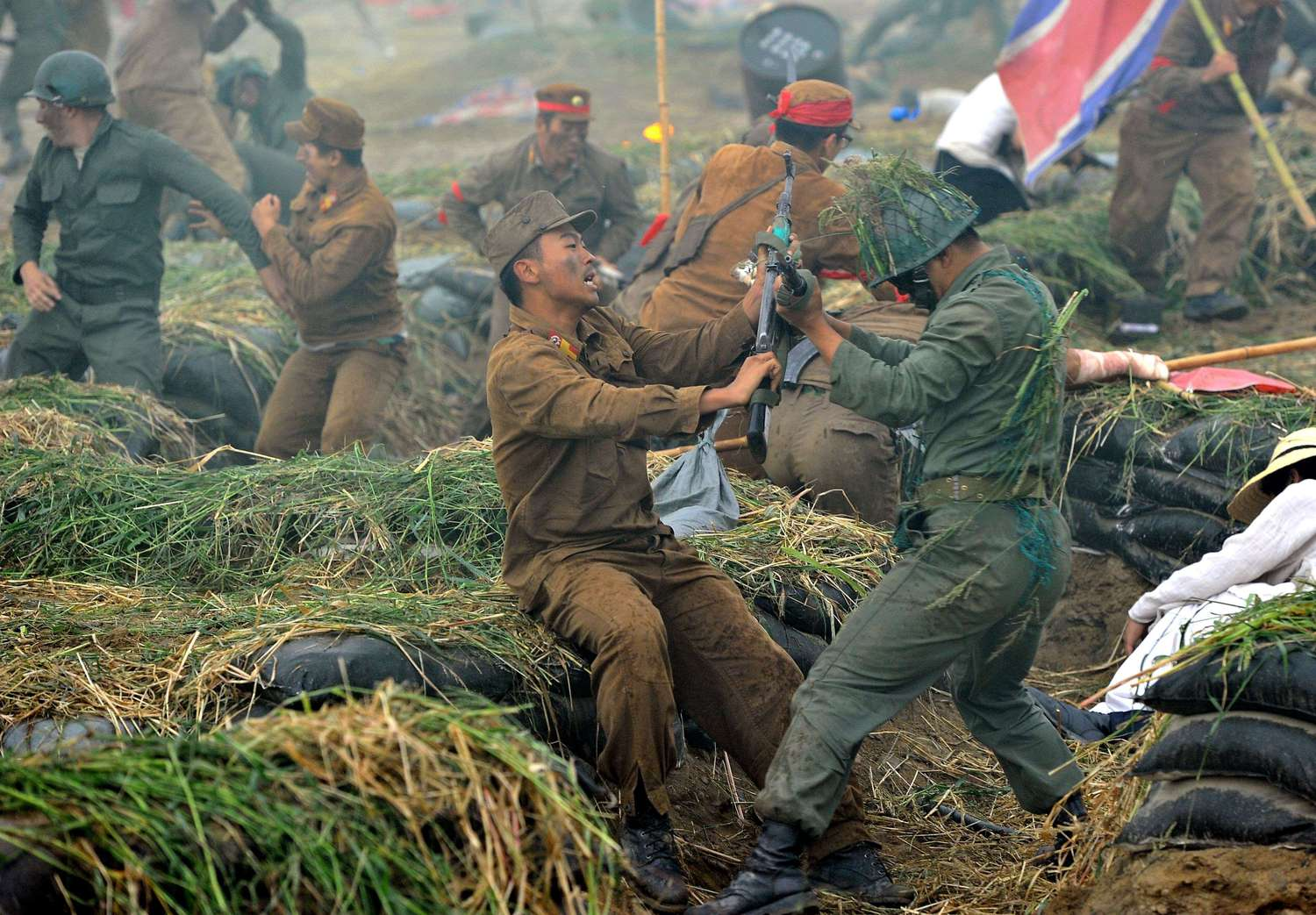 SKOREA-NKOREA-MILITARY-BATTLE