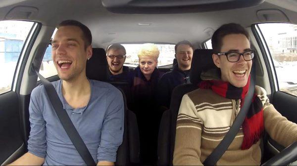 grybauskaite taxi