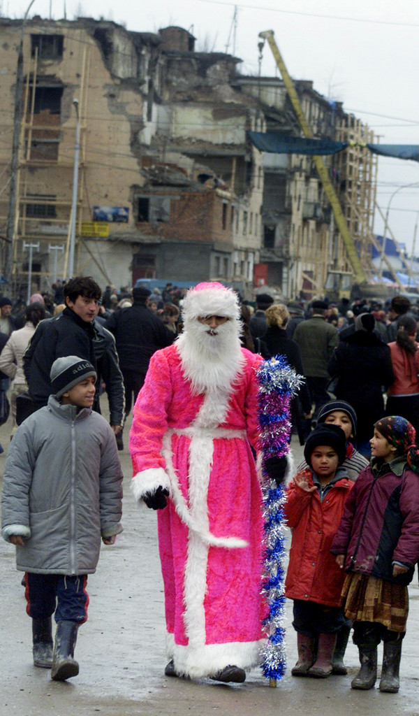 RUSSIA-CHECHNYA-CHRISTMAS