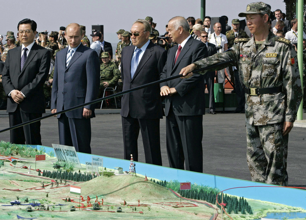 RUSSIA-SHANGHAI-MILITARY-EXERCISES