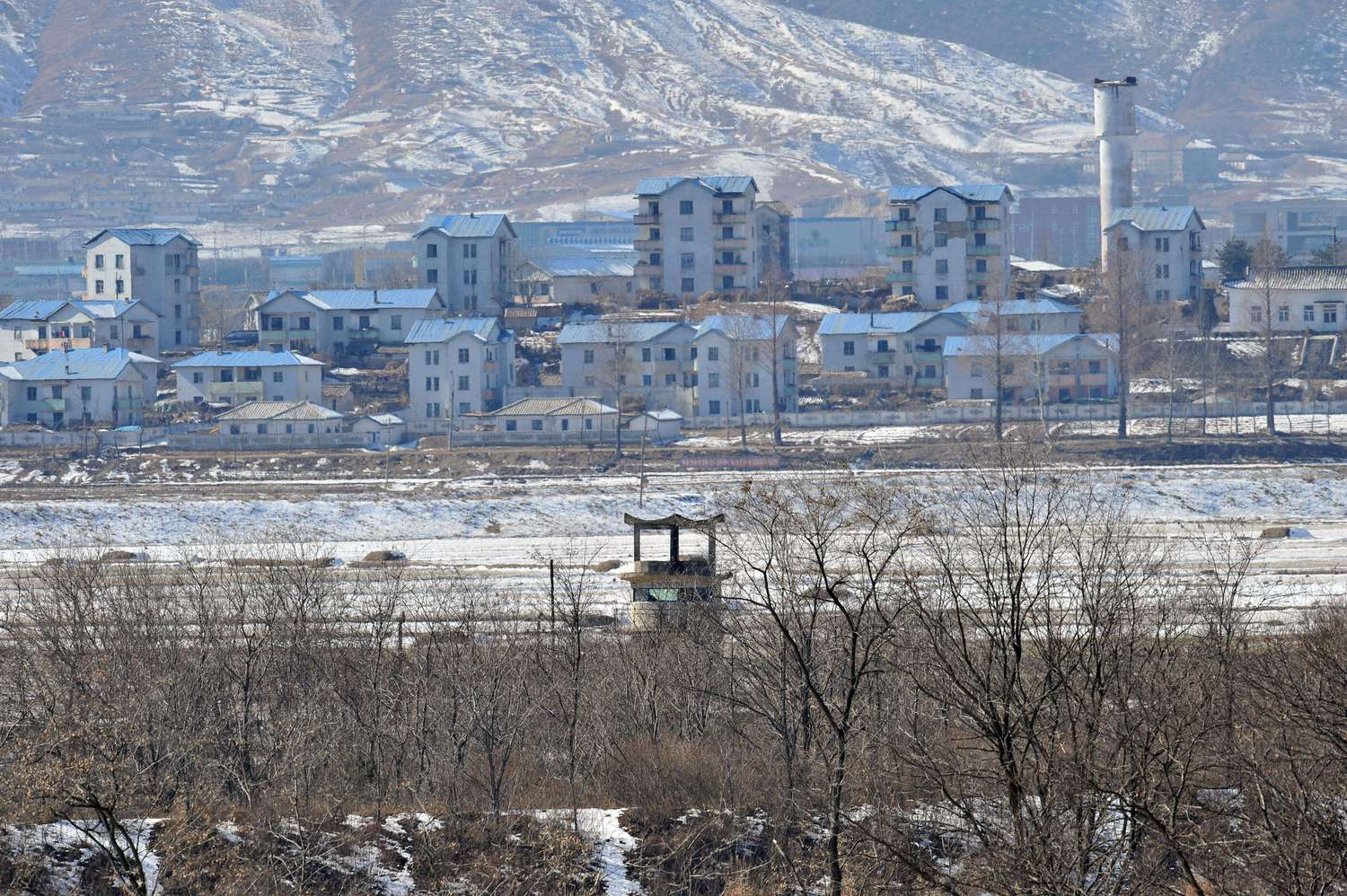 SKOREA-NKOREA-BORDER-VILLAGE